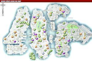 gta 4 karte GTA IV: Karte für Liberty City   planetb.de